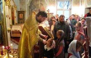 Праздничные богослужения в Неделю 23-ю по Пятидесятнице
