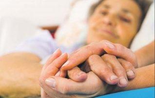 О работе волонтеров с тяжелобольными и умирающими