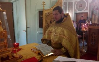 Неделя 12-я по Пятидесятнице. Сретение Владимирской иконы Пресвятой Богородицы. Мучеников Адриана и Наталии