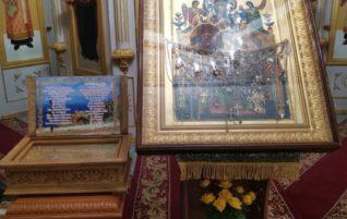 В наш храм прибыла икона Божией Матери «Всецарица»